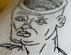 Eternal Fight by Daniel Jonhston by NovedadesEmilia on Etsy #boxer #jonhston #embroidery #handmade #daniel