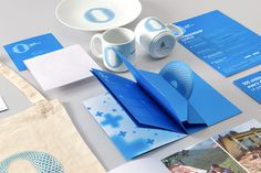 New Logo and Identity for UNICEF ZEROawards by Rice #unicef #collateral #stationery