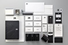 28 HongKong Street on the Behance Network #stationary #branding