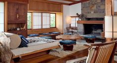 George Nakashima #home #interiors #george nakashima
