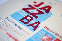 JAZZBA - Festival de Jazz on the Behance Network #flyer #afiche #jazzba #festival