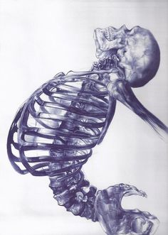 Ballpoint pen drawing by Andrea Schillaci #pen #ball #point #ballpoint