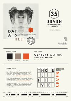 Self promotion { Graphic Designer } on Behance #identity