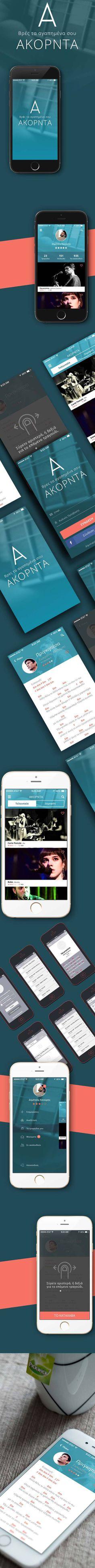 Akorda Mobile App iOS by Dimitris Kanioris