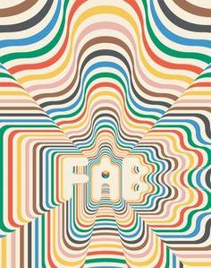 Siggi Eggertsson - BOOOOOOOM! - CREATE * INSPIRE * COMMUNITY * ART * DESIGN * MUSIC * FILM * PHOTO * PROJECTS #lines #pattern #illustration #siggi #eggertsson #psychedelic #typography