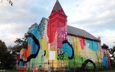 Incredibly Colorful And Massive Murals Adorn Buildings DesignTAXI.com #murals #building #art #street