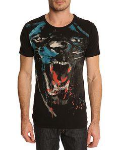Black panter t-shirt #printing #design #graphic #shirts