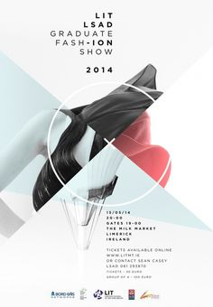 LIT LSAD Fashion Graduate Show 2014 #design #graphic #illustration #poster #typography