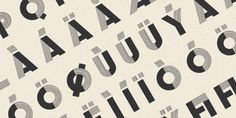 Design Work Life » cataloging inspiration daily #inspired #vintage #typeface #french #typography