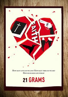 Design You Trust – Design Blog and Community #movie #malatesta #rocco #illustration #poster #21 #grams