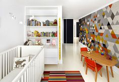 Apartment in Boston by Over,Under - #kidsroom, #decor, #kidsfurniture, home, kids room