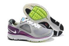 Nike LunarEclipse Running Shoe Wolf Grey Purple Womens