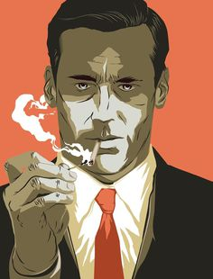 Mad Men Matt Taylor Illustration #illustration #vintage