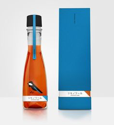 lovely package ricenoir sake 1 #packaging