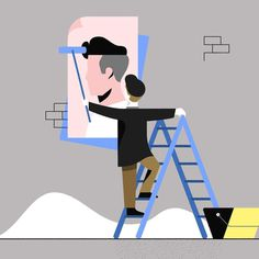 Posterboy by Timo Kuilder #graphic #design #graphicdesign #illustration