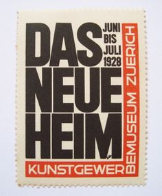 ernst keller. das neue heim. a nova casa « 80 #international #swiss #modern #type #modernist #german