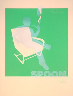 Spoon - Gig Poster