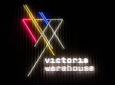 Victoria Warehouse by Jason Flynn #cultural #design #manchester #identity #logo