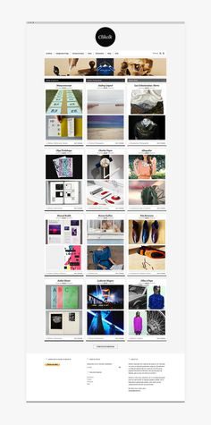 Martin Silvestre Clikclk #inspiration #design #graphic #website #grid #blog #webdesign #layout