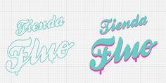 logo for Tienda Fluo by Acopiodg #fluo #plata #del #acopiodg #logo #tienda #mar
