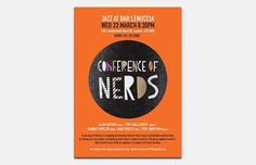 Yuko Sugimoto - Freelance Graphic Designer -Logo, Print, Web, Packaging to Window Display #flyer #of #conference #nerds