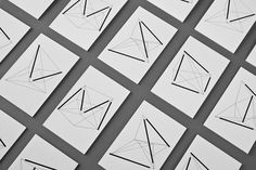 Nosive Strukture, business card submitted and designed by Denis Kovac atBunch–Type OnlyUnit Editions #type #design #white #black