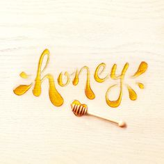 General Mills Cereals, food, lettering, honey