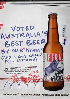 Feral Hop Hog Ad #campaign #beer