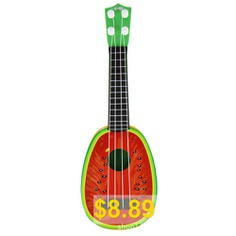 Kids #Fruit #Ukulele #Guitar #Four #Strings #Musical #Instrument #Educational #Play #Toy #- #RED