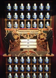 Wayne Wheeler's Amazing Amendment Machine: Bay 3 #history #american #exhibit #prohibition