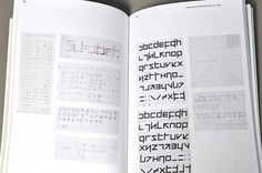 Dave Foster: Type Travels (Wim Crouwel Book) / Bench.li #typography