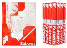 triborodesign | triboro projects #subway #font #pink #poster