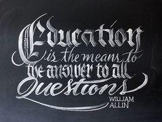 Chalk Typography Artwork