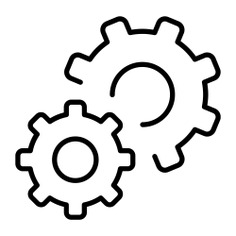 See more icon inspiration related to gear, cogwheel, settings, configuration, ui and Tools and utensils on Flaticon.