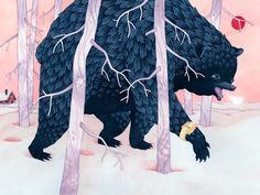 Time to hibernate Eero Lampinen #illustration
