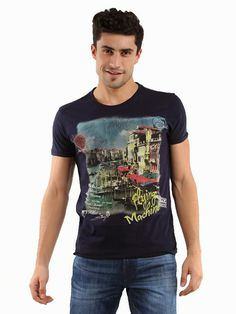 Flying Machine T-shirt #fashion #printing #design #t-shirts