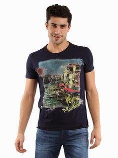 Flying Machine T-shirt #fashion #printing #design #t-shirts