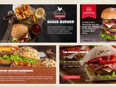 Burger Restaurant PSD Template