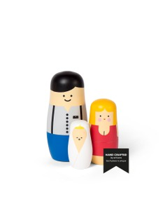 EXPRESSIONS - Family edition - Nesting dolls designed by Benjamin Hansen