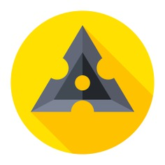 See more icon inspiration related to makibishi, cultures, ninjas, assasin, miscellaneous, blade, shuriken, blades, weapon and security on Flaticon.