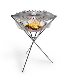 Grillo, an ultra-portable folding camp grill, is a much-anticipated modernization of the traditional BBQ.