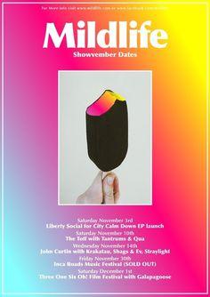 Mildlife #print #poster #gradient