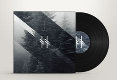 Timber Timbre Album Sleeve #timber timbre #album art #trees #personal project