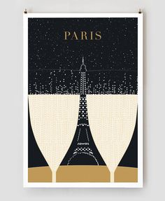 Paris Travel Posters #paris #design #travel #illustration #posters