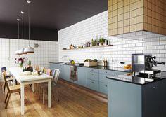 An Old Metal Workshop Becomes A New Studio Photo #interior #design #decor #kitchen #deco #decoration