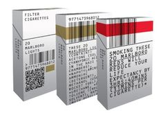 Unbranded Cigarette Packaging #type #unbranding