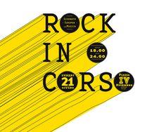 Journées Européennes de la Musique de Perugia | Phileman Agence de communication et de design Nantes / Lorient #font #lettering #festival #rock #design #yellow #black #identity #handmade #music #logo #italy