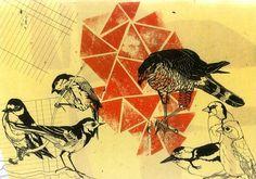 Adrian Dutt   Illustrator #dutt #birds #illustration #adrian
