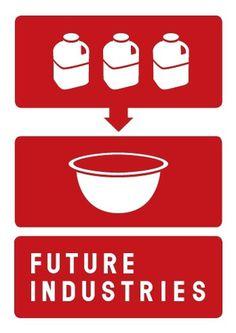 Future Industries identity « Studio8 Design #illustration #design #symbol #typography