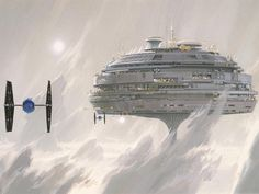 Concept Illustration Ralph McQuarrie / Lucasfilm